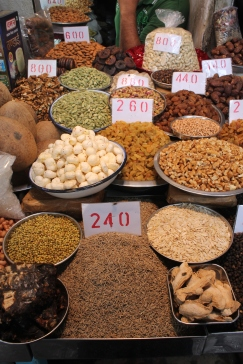 Inside the spice market