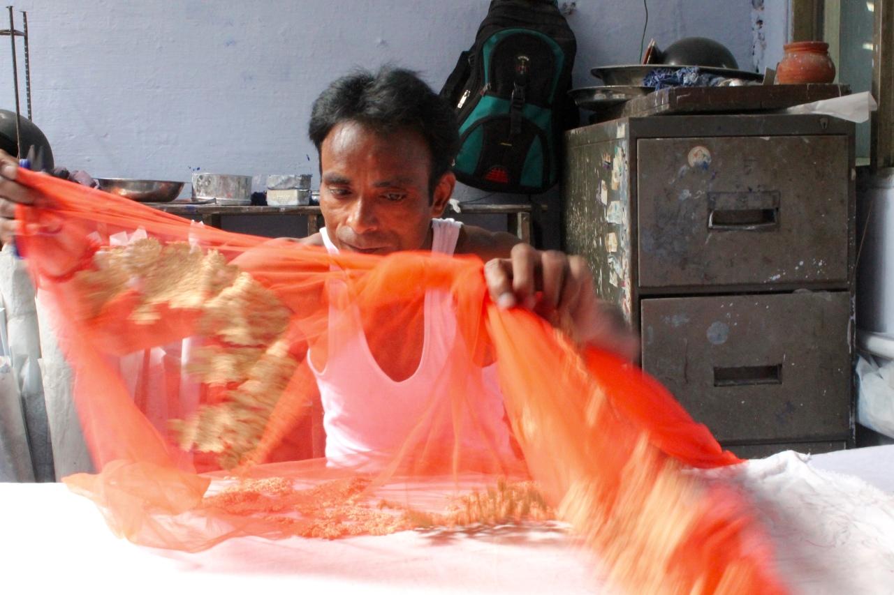Old Delhi - tissage